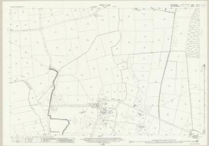 Lincolnshire LXIX.9 (includes: North Scarle; South Clifton; Spalford; Wigsley) - 25 Inch Map