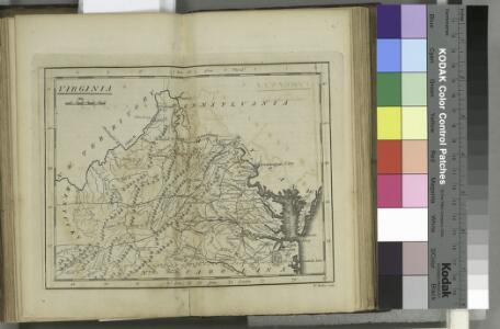 Virginia / W. Barker sculp.; Carey's American pocket atlas; containing nineteen maps... with a brief description of each state.
