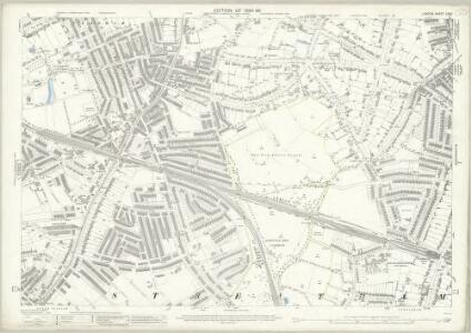 London (Edition of 1894-96) CXXV (includes: Wandsworth Borough) - 25 Inch Map