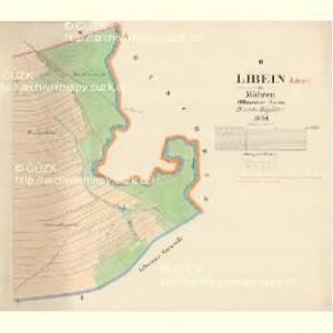 Libein - m1544-1-002 - Kaiserpflichtexemplar der Landkarten des stabilen Katasters