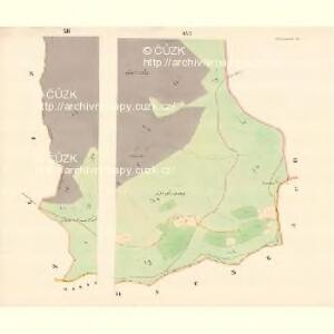 Gross Bistrzitz (Welky Bistrzice) - m3258-1-010 - Kaiserpflichtexemplar der Landkarten des stabilen Katasters