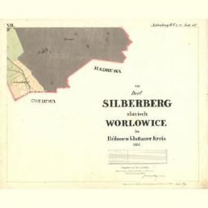 Silberberg - c5515-1-007 - Kaiserpflichtexemplar der Landkarten des stabilen Katasters