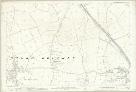 Northamptonshire LVII.1 (includes: Ashton; Roade; Stoke Bruerne) - 25 Inch Map