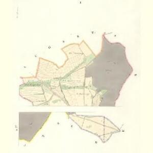Tinischt (Tinisst) - c8155-1-001 - Kaiserpflichtexemplar der Landkarten des stabilen Katasters