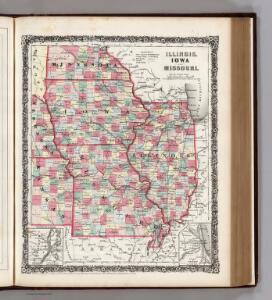 Illinois, Iowa, and Missouri.