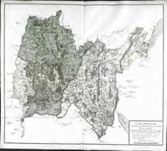 Carte itinéraire des pays de Bresse Bugey et Gex