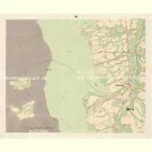 Mosty bei Jablunkau - m1892-1-006 - Kaiserpflichtexemplar der Landkarten des stabilen Katasters