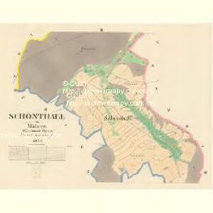 Schönthall - m1345-2-002 - Kaiserpflichtexemplar der Landkarten des stabilen Katasters