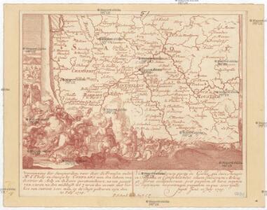Verwinning der Savojaerden, waer door de Fransen, onder Mo. d'Thouy in Savoje by Conflans aan den inham van de rivier de Arly en de Isere geretrencheert, na een gevegt van 2 uren na den middagh tot 7 uren des avonts, met verlies van ontrent 2000 man, op de vlugt gedreven zyn den 20 iuly 1709