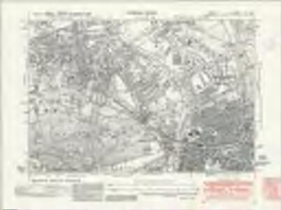 Surrey VI.SE - OS Six-Inch Map