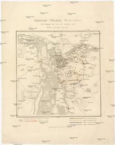 Grosse Völker Schlacht bei Leipzig den 16 u. 18 October 1813