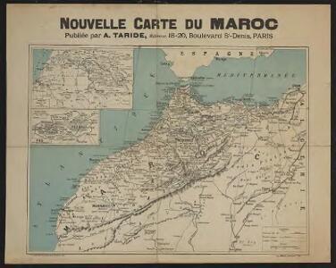 Nouvelle carte du Maroc