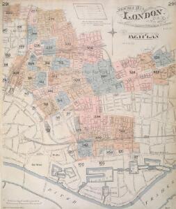 Insurance Plan of London Vol. XI: Key Plan