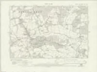 Sussex XLIV.SW - OS Six-Inch Map