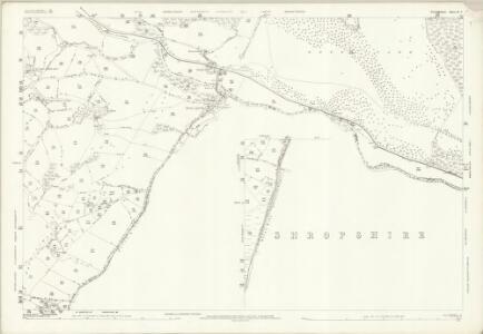 Denbighshire XL.9 (includes: Chirk; Glyntraean; Weston Rhyn) - 25 Inch Map