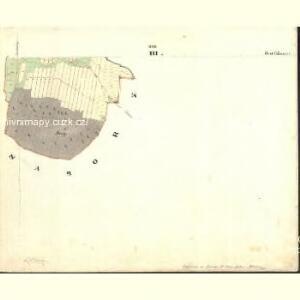 Roschowitz - c6390-1-003 - Kaiserpflichtexemplar der Landkarten des stabilen Katasters