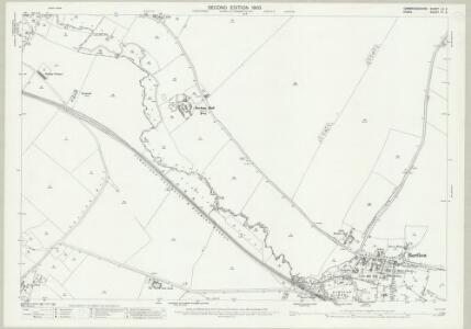 Cambridgeshire LX.3 (includes: Ashdon; Bartlow; Hadstock; Horseheath; Linton) - 25 Inch Map
