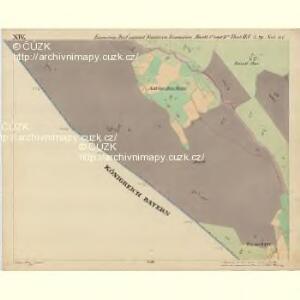 Eisenstein Dorf - c7755-2-014 - Kaiserpflichtexemplar der Landkarten des stabilen Katasters