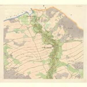 Gross Nixdorf - c4628-1-002 - Kaiserpflichtexemplar der Landkarten des stabilen Katasters