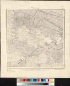 Meßtischblatt 829 : Westerwanna, 1893