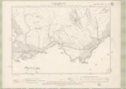 Argyll and Bute Sheet XXVI.SW - OS 6 Inch map