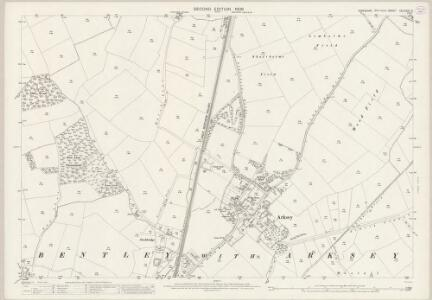 Yorkshire CCLXXVII.5 (includes: Bentley With Arksey) - 25 Inch Map