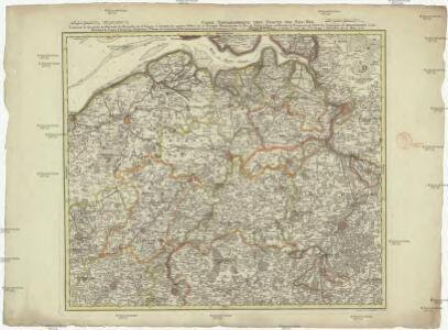Carte topographique tres exacte des Pais-Bas