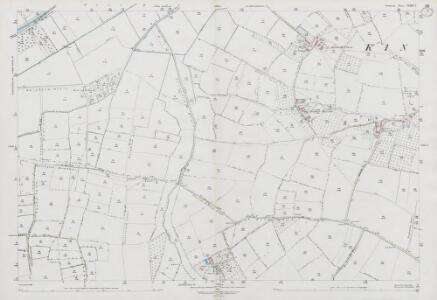 Somerset LXXXI.7 (includes: Barrington; Curry Rivel; Kingsbury Episcopi) - 25 Inch Map