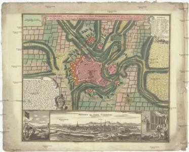 Luxembourg, une fortresse tres celebre de la duché de cette nom dans Pais-bas