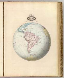 Amerique du Sud spheroidale.