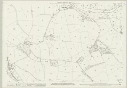 Cornwall XL.9 (includes: Newlyn) - 25 Inch Map