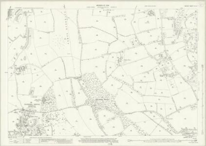 Surrey XX.13 (includes: Coulsdon) - 25 Inch Map