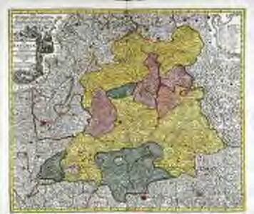 Palatinat. superior sive Bavariæ germanice Die Obere Pfaltz secundum omnes status et præfecturas accurata designatione