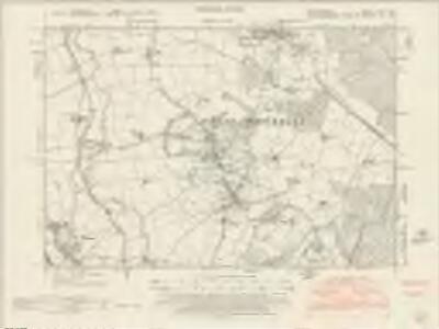 Bedfordshire XXIV.SW - OS Six-Inch Map