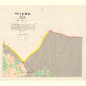 Königswalde - c3498-2-002 - Kaiserpflichtexemplar der Landkarten des stabilen Katasters