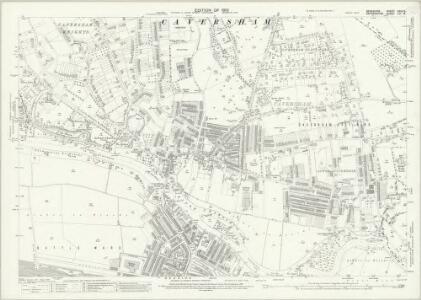 Berkshire XXIX.15 (includes: Eye and Dunsden; Mapledurham; Reading) - 25 Inch Map
