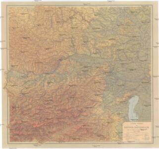 G. Freytag's Generalkarte von Nieder-Österreich