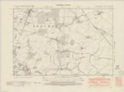 Hertfordshire XXII.SW - OS Six-Inch Map