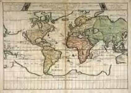 Carte vniverselle du commerce, c'est à dire carte hidrographique