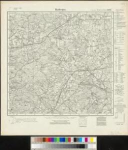 Meßtischblatt 2010 : Hasbergen, 1929