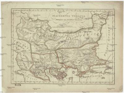 Macedonia Thracia Moesia et Illyris Graeca