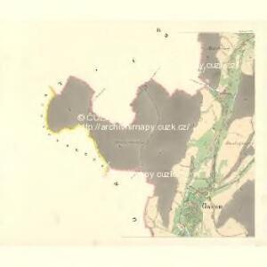 Oskau (Oskawa) - m2174-1-003 - Kaiserpflichtexemplar der Landkarten des stabilen Katasters