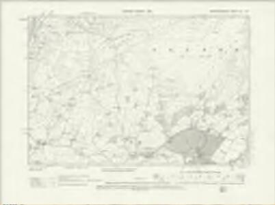 Merionethshire XLI.SW - OS Six-Inch Map
