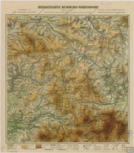Heimatkarte Rumburg - Warnsdorf