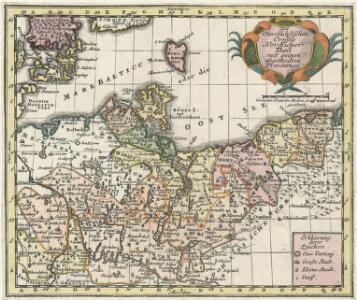 Des Ober-Sächßischen Creißes Nordlicher Theil mit seinen abgetheilten Provintzen