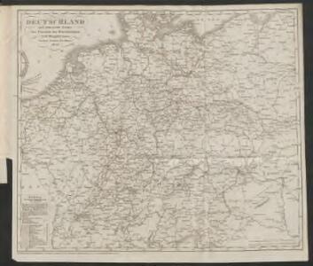 Eisen-Bahn-Atlas von Deutschland, Belgien, Elsass und dem nördlichsten Theile von Italien