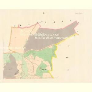 Petrowitz (Petrowicz) - c5728-1-002 - Kaiserpflichtexemplar der Landkarten des stabilen Katasters