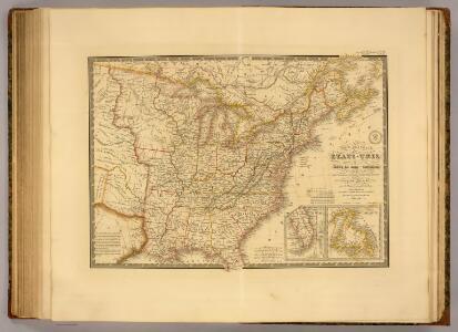 Etats-Unis, Haut et Bas-Canada, Nouvle. Ecosse, Nouvau. Brunswick, Terre-Neuve.