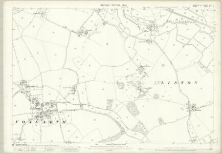 Suffolk LXXII.6 (includes: Foxearth; Liston; Long Melford) - 25 Inch Map