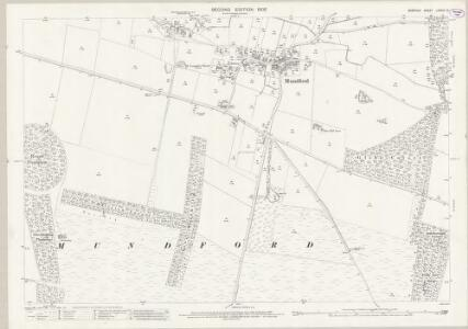 Norfolk LXXXIII.13 (includes: Ickburgh; Lynford; Mundford) - 25 Inch Map